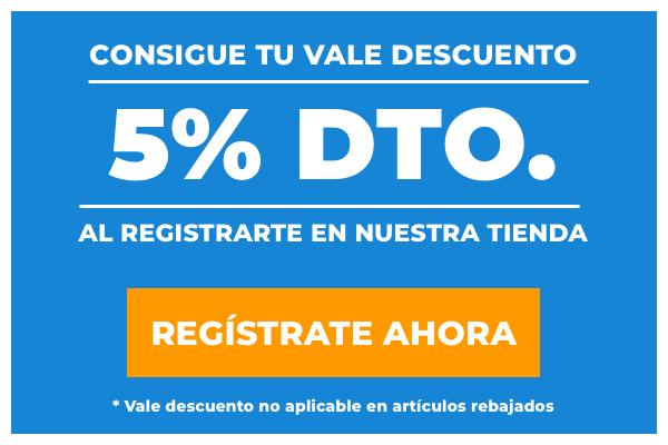 Oferta 5% Descuento